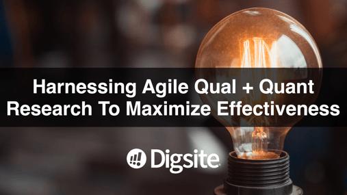 Agile Qual and Quant-1