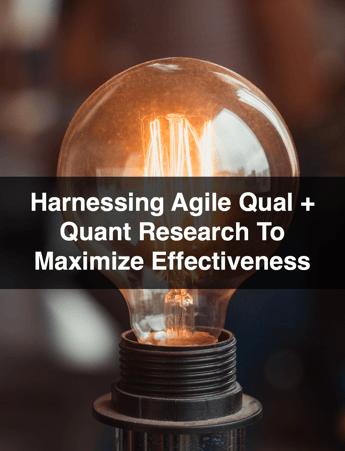 Agile Qual and Quant