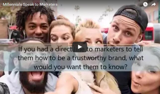 Millennials Talk Trust to Marketers