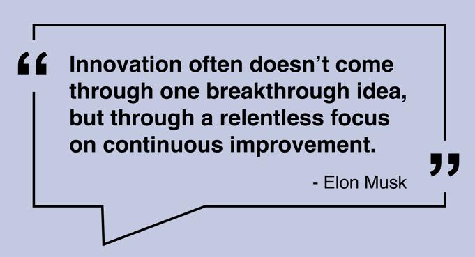 Elon Innovation Quote