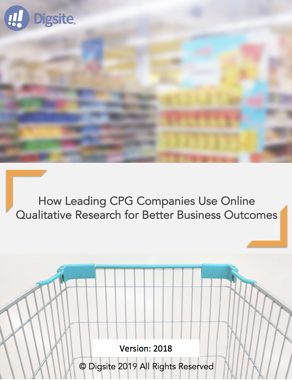 HOW CPG COMPANIES USE ONLINE QUAL