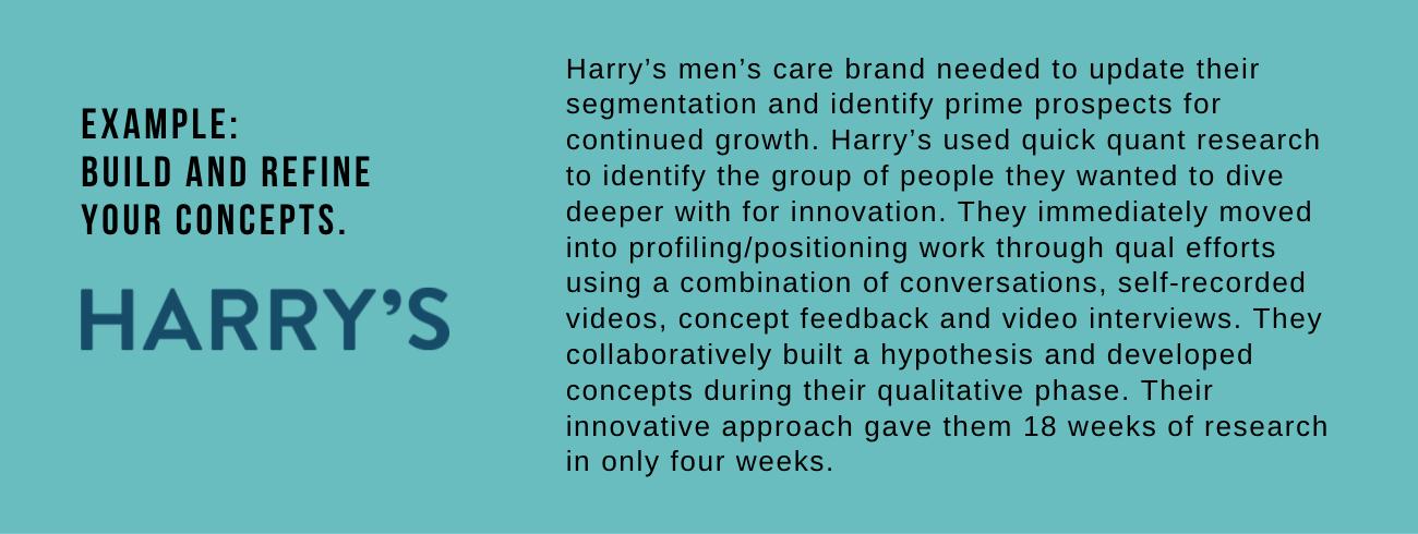 Harrys example
