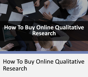 How To Buy Online Qualitative Research Webinar