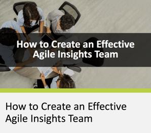 How to Create an Effective Agile Insights Team