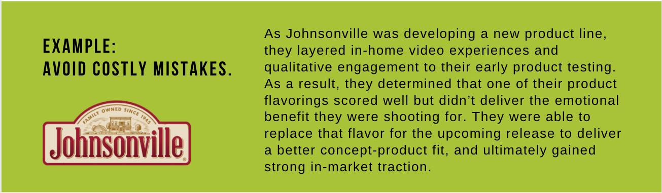 Johnsonville example