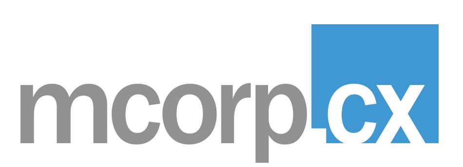 MCorp CX logo