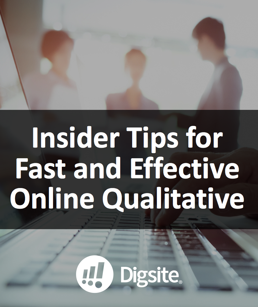 Webinar Recording- Insider Tips for Fast and Effective Online Qualitative