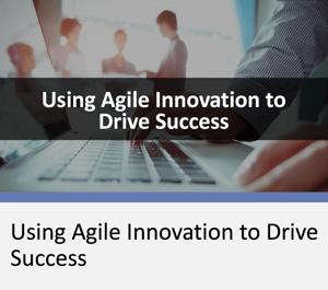 using agile innovation webinar