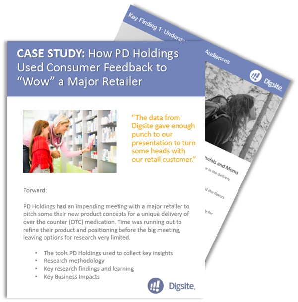 Case Study: Product Concept Validation for a Major Retailer Meeting