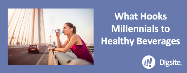 Research Reveals What Hooks Millennials to Healthy Beverages