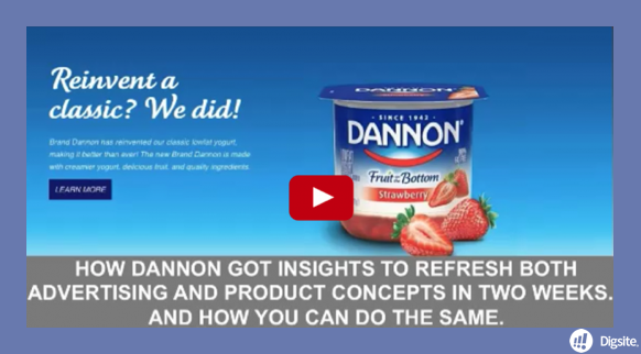 On Demand Webinar: How Dannon Got Insights to Refresh Both Advertising and Product Concept in 2 Weeks... And How You Can Do the Same for Your Brand